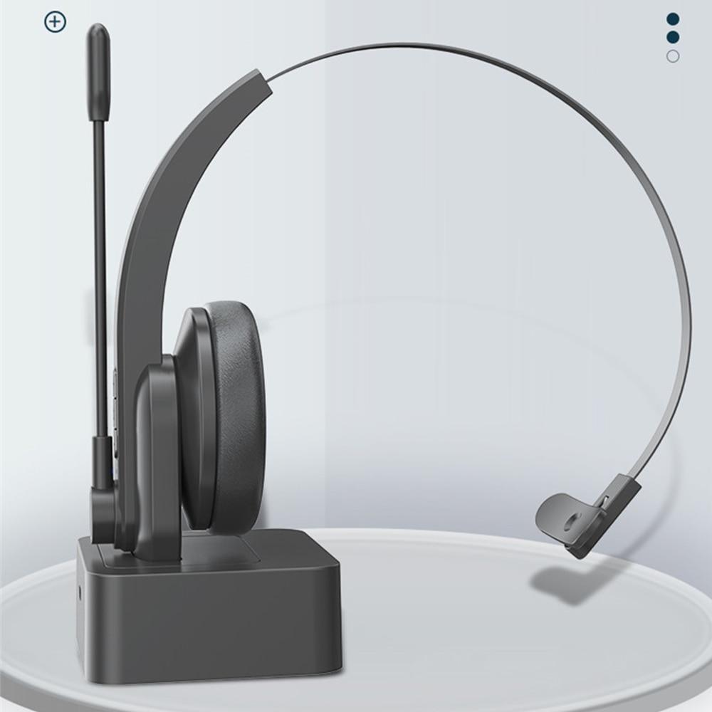 Bluetooth 5.0 fones de ouvido com base