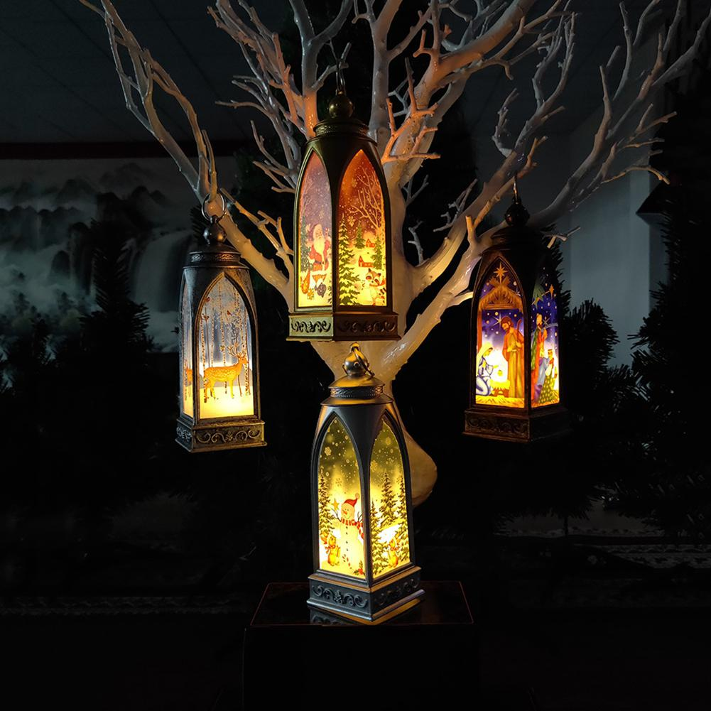 Fairy Christmas Decoration For Home LED Outdoor Hanging Tree Lamp Holiday Home Garden New Year's Decor Creative Christmas Light