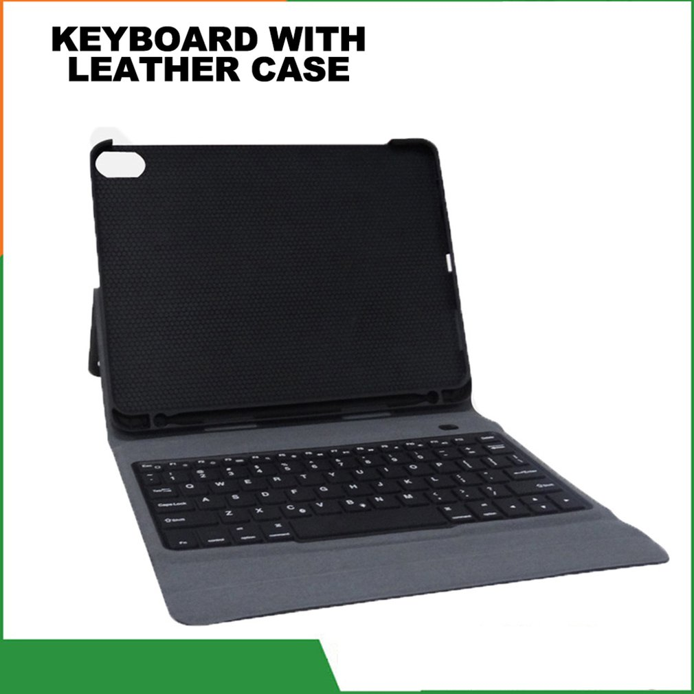 For Ipad Pro 11 Leather Case Keyboard Ultra-Thin Backlight With Flat Case Protective Cover Computer Accessories