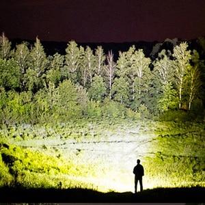 Image 5 - Xhp90.2 Led كشافات المصباح أقوى 32 واط 4291lm رئيس مصباح التكبير قوة البنك 7800 مللي أمبير 18650 بطارية