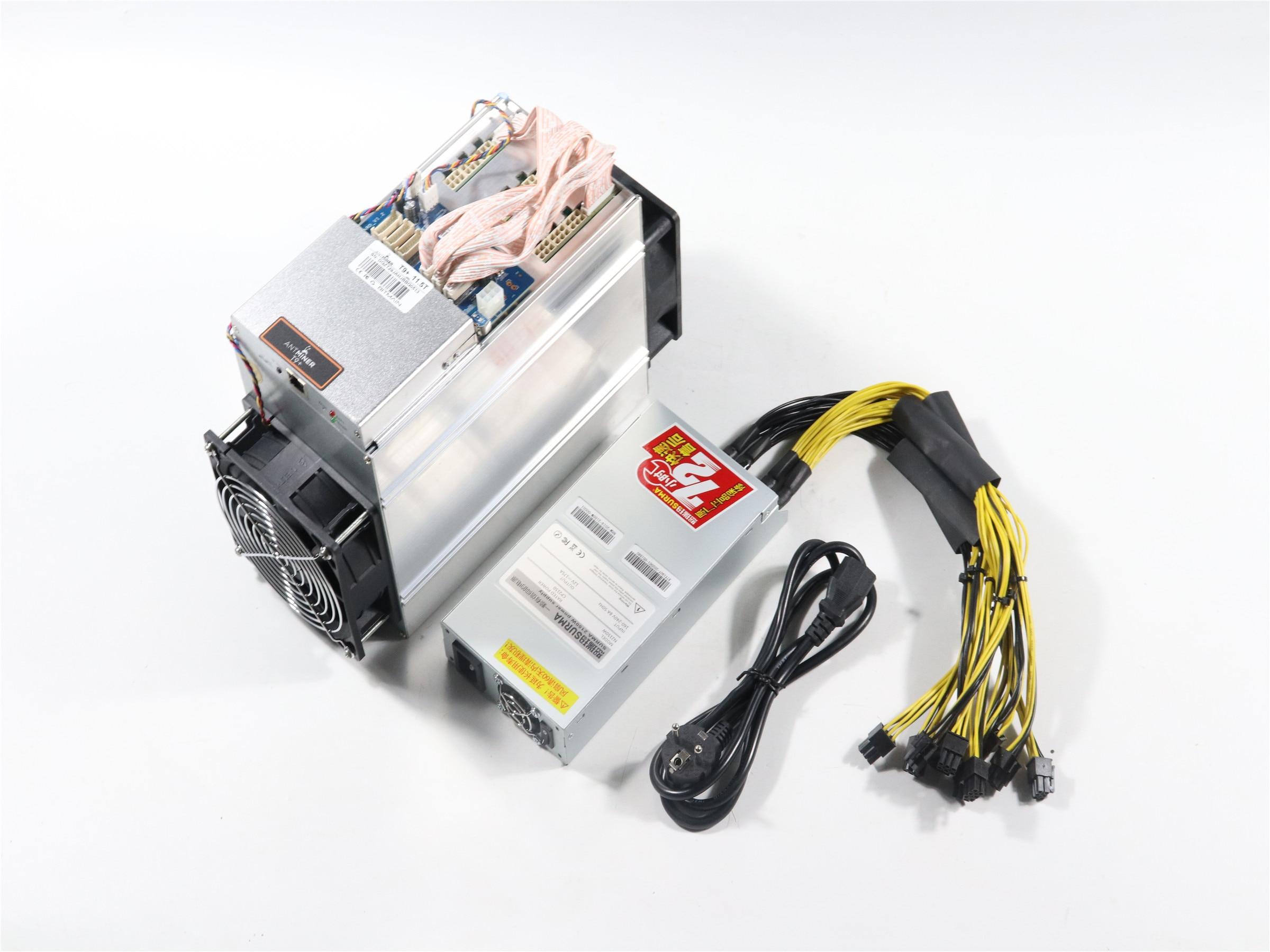 New Antminer T9 + 11.5T com (2150w PSU) BCH Econômico Do Que Antminer Mineiro BTC S9 S9k S9SE S11 S15 S17Whasminer M3