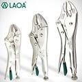 Плоскогубцы LAOA  запирающие плоскогубцы  5 дюймов  7 дюймов  10 дюймов  водопроводные гаечные ключи Cr-Mo  круглые щипцы