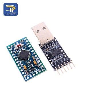 Image 4 - 1PCS 6pin CP2102 USB 2.0 כדי TTL UART מודול + 1PCS פרו מיני מודול Atmega328 5V 16M לarduino תואם עם ננו
