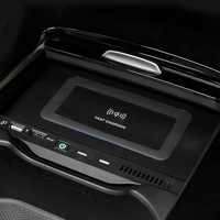 For Mercedes Benz W177 W246 A180 A200 AMG A35L GLB 2019 2020 10w car QI wireless charger charging plate phone holder accessories