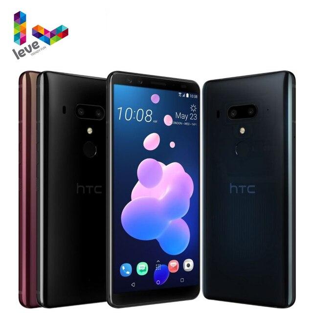 "Unlocked HTC U12+ Dual SIM Mobile Phone 6GB RAM 64GB&128GB ROM Octa Core 6.0"" 16MP NFC 4G LTE Original Android Smartphone 1"