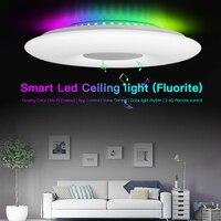 LEDVAS Smart Decke Lichter WIFI Voice Control APP Control RGB Dimmen Bluetooth Lautsprecher Decke Lampe Küche wohnzimmer