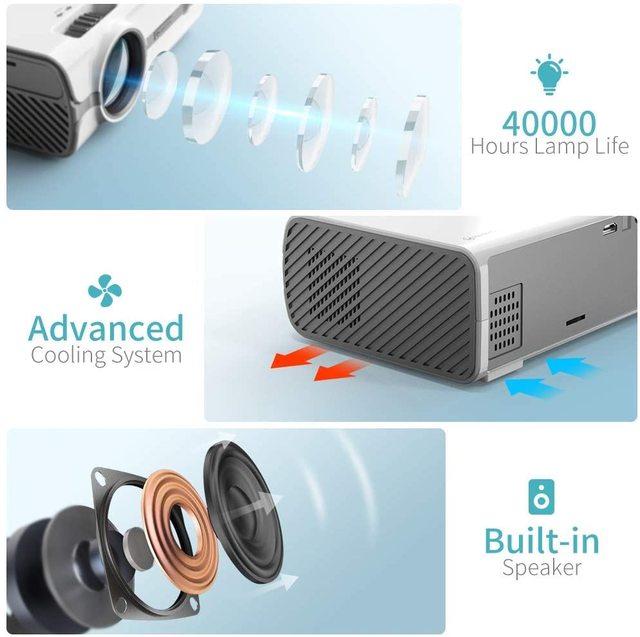 VANKYO Leisure 410XX Mini Projector 1080P 200 2