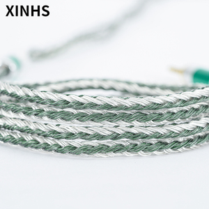 Image 5 - 24 Strands Silver Plated Copper Earphone Cable MMCX/0.78mm 2 Pin/QDC/TFZ HIFI Headphone Upgrade Cable For SE535 UE900S