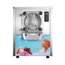 Коммерческий столешница 20л/ч жесткая подача машина для мороженого с 4.3л миксер Хоппер