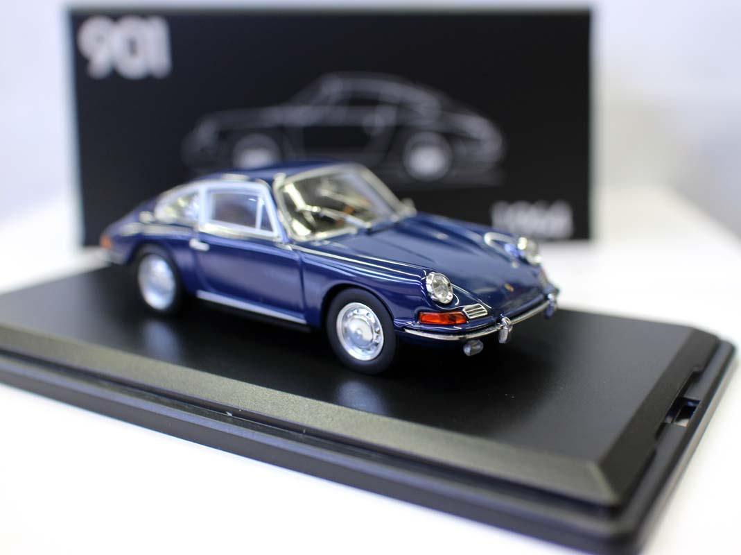 1:43 1964 porsche 901 velho carro coleção