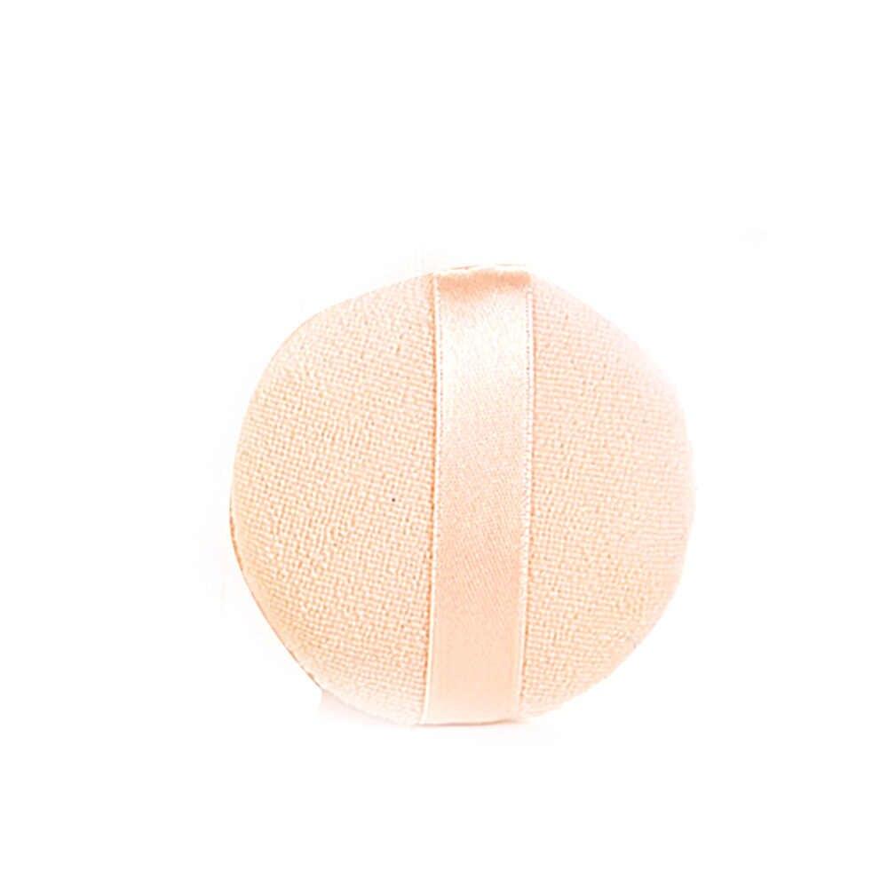 Kapas Murni Powder Puff Bulat Spons Makeup Kapas Wajah Bertiup BB Cream Bantal Dry Powder Makeup Puff