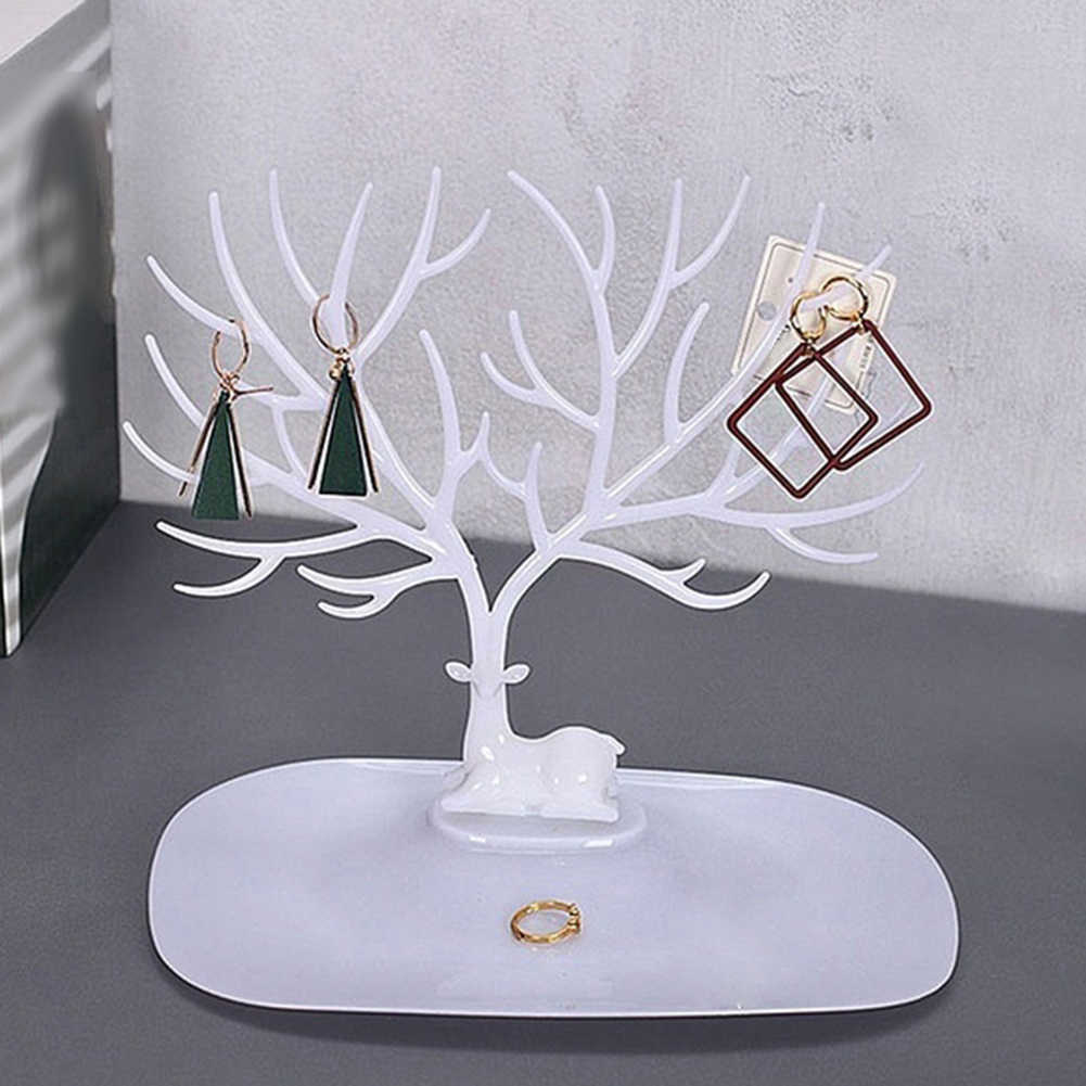 Antler Tree Jewelry Hanging Organizer Rack Earrings Necklace Ring Display Stand Jewelry Tree Branches Using Staghorn Design Aliexpress