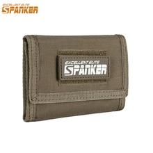 EXCELLENT ELITE SPANKER Wallet Card Bag Tactical Waterproof Wallet ID Holder Money Bag Mens Pouch Outdoor Wallet Military