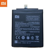 Оригинальный аккумулятор Xiao Mi BN34 3000 мАч для Xiaomi Redmi 5A, сменные батареи для телефона