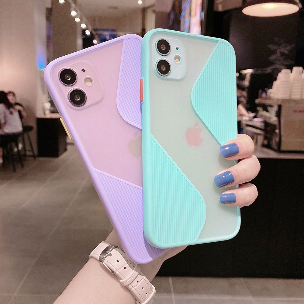 Camera Protection Phone Cases For Huawei P40 P30 Pro P40 Lite Mate 30 20 Pro Candy Color Soft TPU Transparent Back Cover Coque