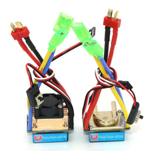 Image 5 - RC ESC 320A 480A Brushed ESC Speed Controller Dual Mode Regulator band brake 5V 3A for 1/10 RC Car Boat