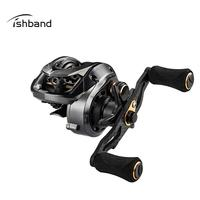 New Right Left Hand Baitcasting Carbon Rocker Arm Fishing Reel GH100 Shallow Spool Fishing Reel