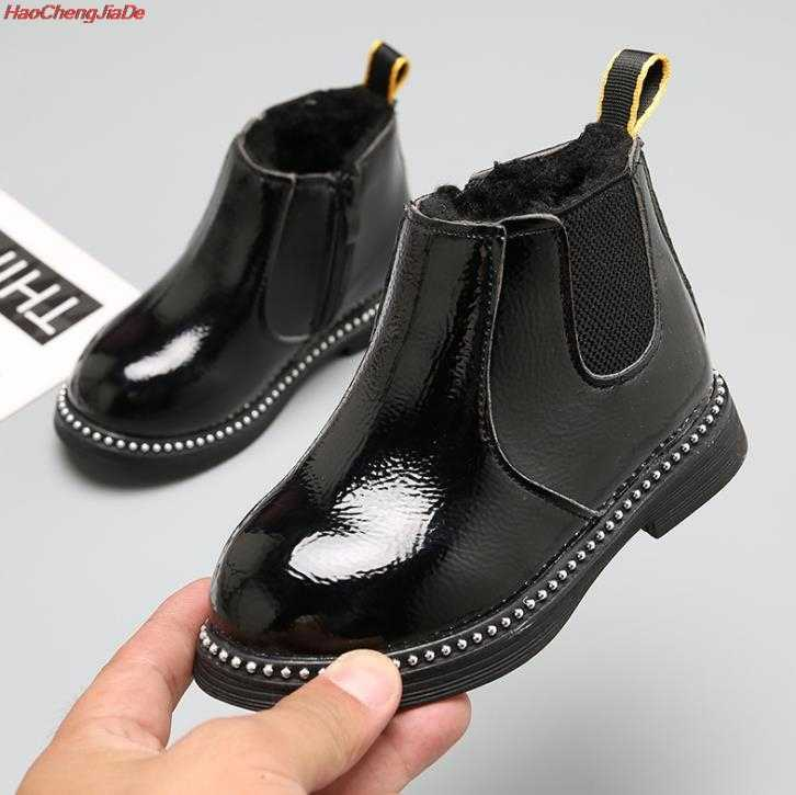 เด็กใหม่รองเท้าเด็กรองเท้าฤดูใบไม้ร่วง Martin Boots เด็กฤดูหนาวรองเท้าแฟชั่นรองเท้า