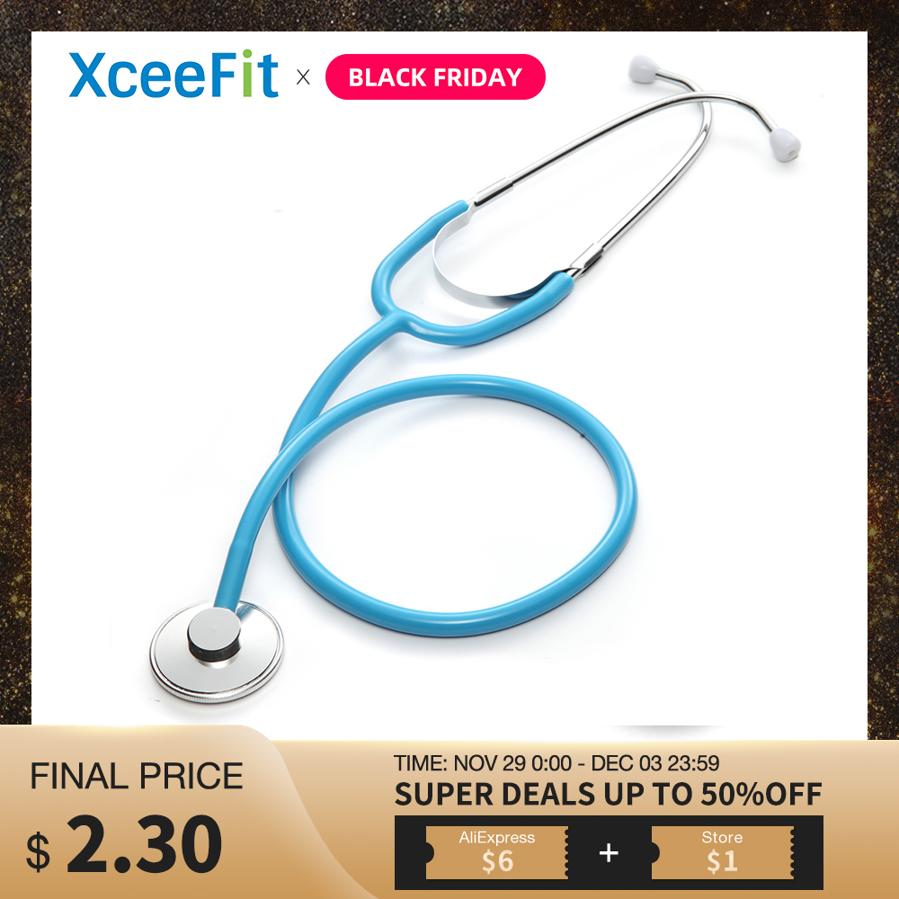 Portable Doctor Stethoscope Medical Cardiology Stethoscope Professional Medical Equipments Medical Devices Student Vet Nurse