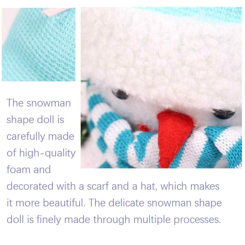 Рождественский снеговик, плюшевая игрушка для детей, рождественский подарок, снеговик, коробка для хранения пены, украшение стола