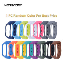 Smart Bracelet Wristband for Xiaomi Mi Band 4 3 Strap Replacement Belt Silicone Band4