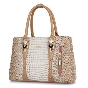 Image 2 - ZMQN Famous Brand Women Handbags Ladies Hand Bags Luxury Handbags Women Bags Designer 2020 Crocodile Leather Bags For Women C804