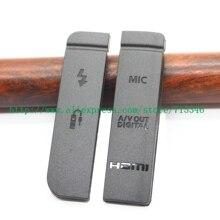 (عالية الجودة) جديد USB/HDMI تيار مستمر في/فيديو خارج المطاط الباب السفلي غطاء لكانون EOS 7D كاميرا رقمية إصلاح جزء