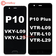 """Comebuy 5.5 """"화웨이 P10 플러스 LCD 디스플레이 VKY L09 L29 터치 스크린 화웨이 P10 디스플레이 프레임 VTR L09 L29 교체"""