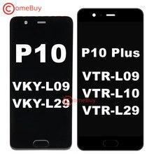 """Comebuy Cho 5.5 """"Huawei P10 Plus Màn Hình Hiển Thị LCD VKY L09 L29 Màn Hình Cảm Ứng Cho Huawei P10 Màn Hình Hiển Thị Có Khung VTR L09 l29 Thay Thế"""