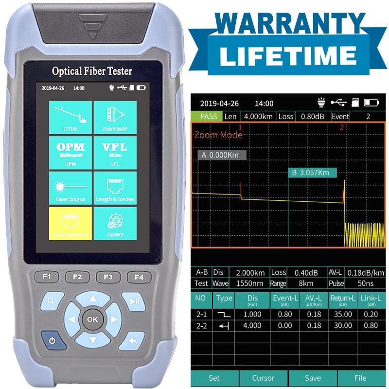 Free Shipping High Accurate OTDR Mini Pro Optical Time Domain Reflectometer OTDR 1310nm And 1550nm Fiber Optic