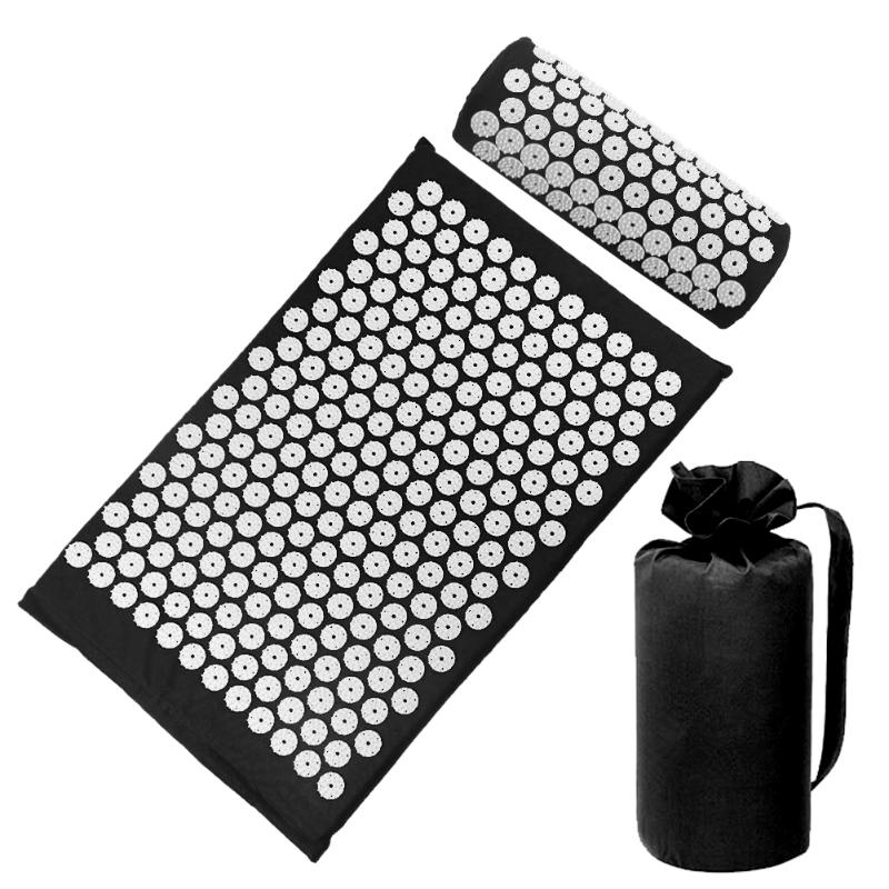 Acupressure Massage Mat with Pillow set to body Relaxation to Release Stress and Tension 47
