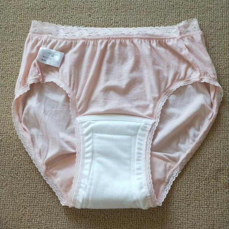 Женские трусики из хлопка, для взрослых, водонепроницаемые, можно мыть ткань, покрытие, постарше моча, не влажный подгузник, штаны, недержание, женские трусы