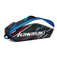 Racket Shoulder-Backpack Padel Shoes-Bag Badminton-Bag with Can-Hold-6pcs Men Women
