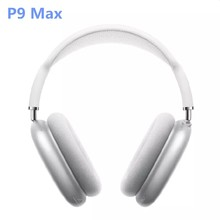P9 max airpodding max headsets Bluetooth headphones Wireless earphones deep bass noise cancellations for IOS Android phone