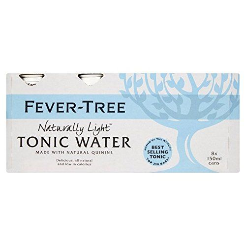 Fever-Tree Naturally Light Tonic Water Cans 24 X 150ml