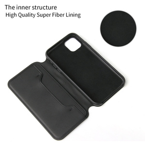 Image 4 - Luxury Soft Leather Flip Phone Case for IPhone 11 Pro Xs Max Xr X 8 7 6 6s Plus Card Holder Wallet Cover for IPhone SE 2020 Case