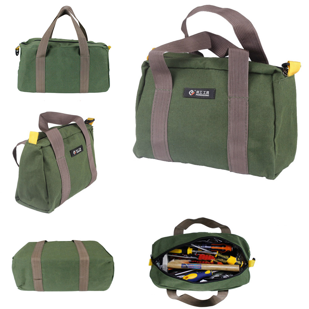 1pc Men Hand Tool Bags Large Capacity Portable Bag For Tools Hardware Screwdrivers Pouch Repair Kit Waterproof Bags