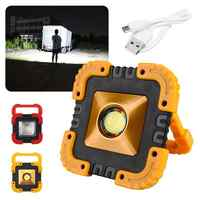 USB Rechargeable Spotlights LED COB Lights Floodlight Camping Emergency Lamp Led Portable Super Bright Led Work Light outdoor