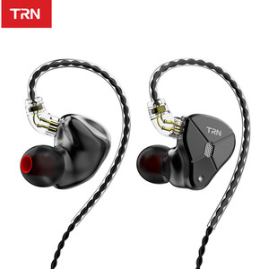Image 2 - TRN BA5 5BA 10 Unit Balanced Armature In Ear Earphones HIFI Metal Monitor Headset Noise Earbud Earphone ZS10PRO ZSX V90 BA8 ZAX