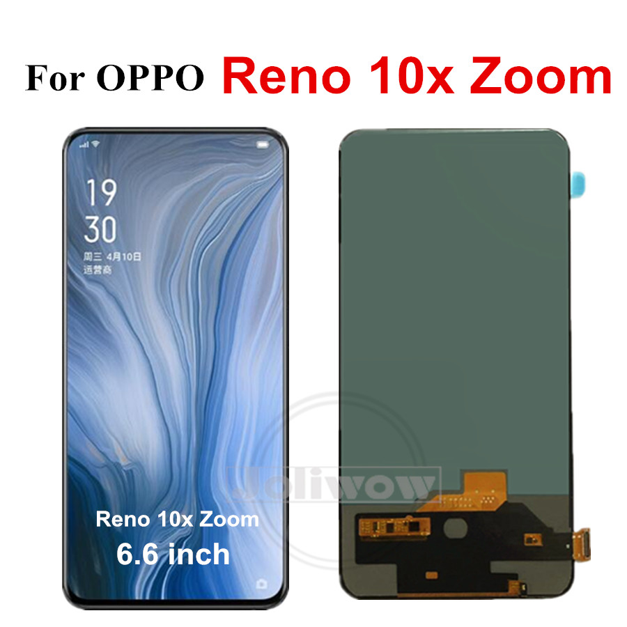 "6.6"" TFT LCD For OPPO Reno 10x Zoom LCD Display Screen+Touch Panel Digitizer Assembly For Oppo Reno 10x zoom LCD Screen"