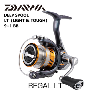 Image 1 - DAIWA REGAL LT fishing spinning reels 1000D 2000D 2500D 2500DXH 3000DC 3000DCXH 10BB Air Rotor Aluminum Spool Fishing wheels