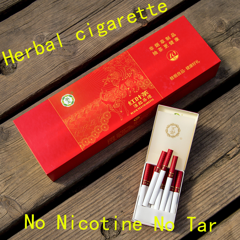 Red Leaf Herbal Cigarettes Clearing Lung To Quit Smoking No Nicotine & Tobacco Cigarettes Tea