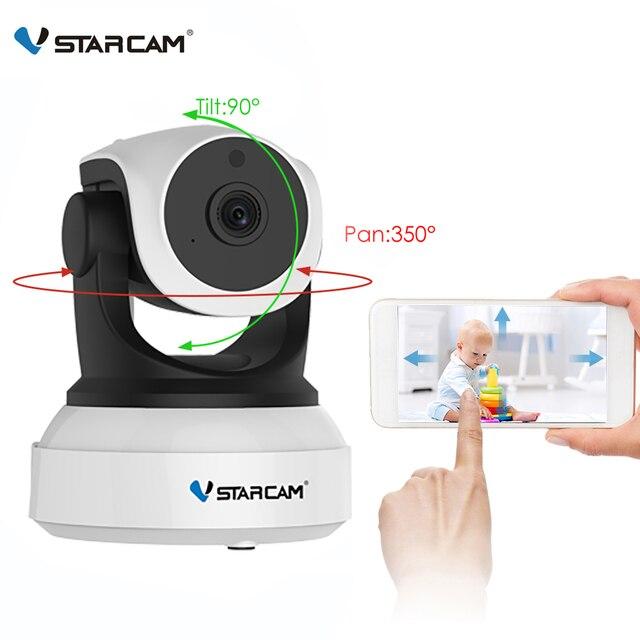 Cámara Vstarcam 720 P Wifi IP inalámbrica C7824WIP Monitor de seguridad para bebé red IP intercomunicador Teléfono Móvil APP cámara de visión nocturna