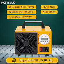 PCLTSLLK Ozone Generator Ozonator Machine Air Purifier Timer Control 220V EU plug With Display Sterilization Equipment