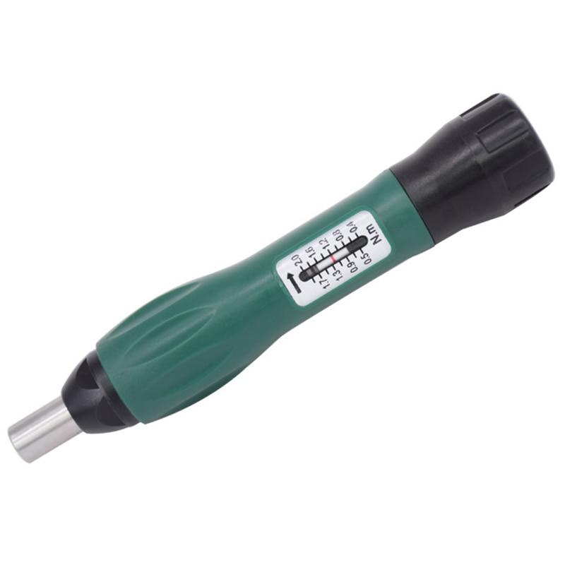 WTD6-02 Precision Torque Screwdriver Adjustable 0.4-2NM 1/4Inch Hex Hole Screwdriver Set Durable