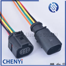 6 pinos 42121700 3b0973813 1j0973713 1.5mm sensor de temperatura automática invertendo radar plugue do acelerador para vw audi 1j0 973 713 com fios