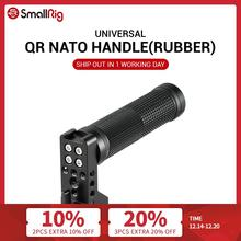 SmallRig QR NATO Handle (Rubber) with Safety Rail Quick Release Hand Grip for SmallRig A7III / Z6 /Z7 Camera Cage 2084