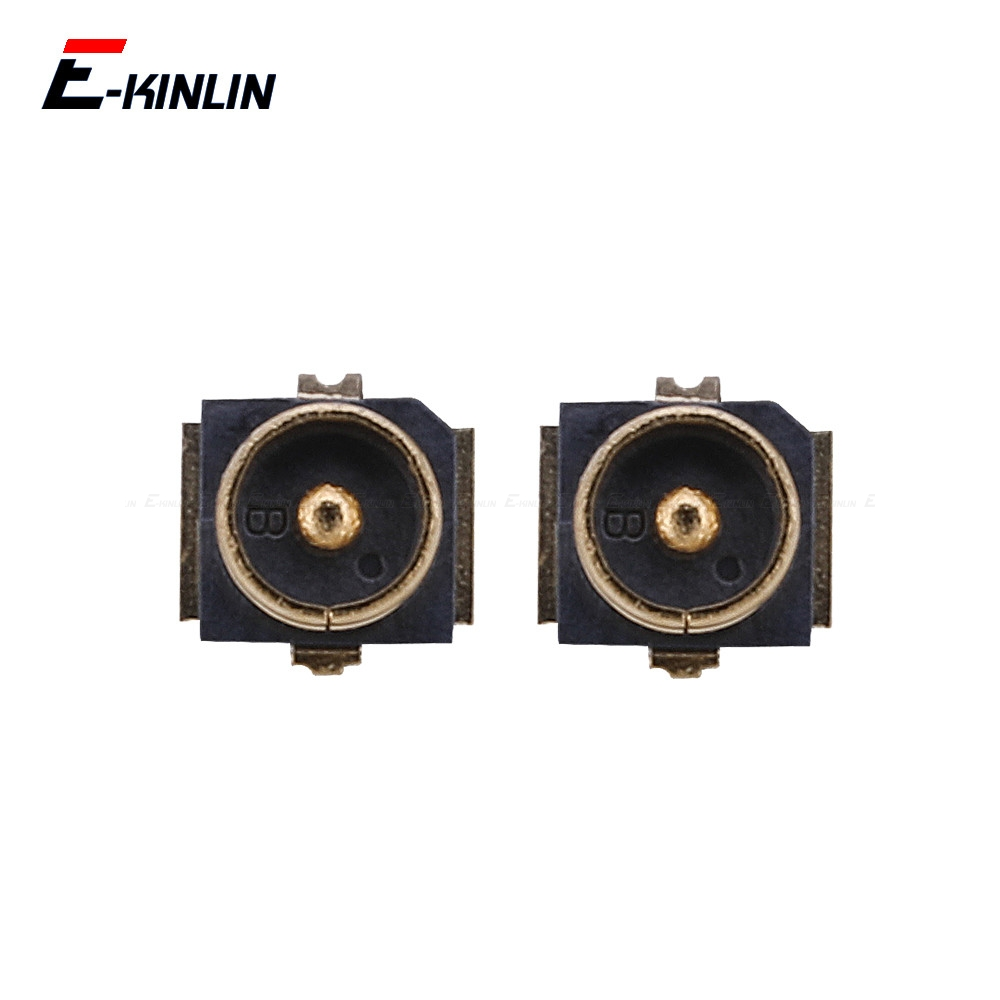2pcs/lot Wifi Signal Antenna Flax Connector Socket On Motherboard For Xiaomi Mi 6 5S 5 A1 A2 Redmi Note 4 4X 5A 2 3 For Huawei
