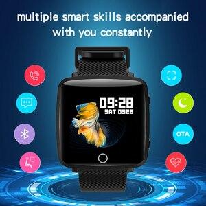 Image 5 - لينوفو HW25P Smartwatch معصمه 1.3 بوصة 2.5D شاشة IPS الملونة عرض بلوتوث الرياضة رصد معدل ضربات القلب IP68 ساعة ذكية