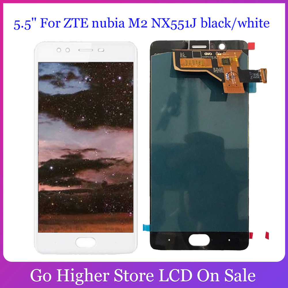 5.5'' For ZTE nubia M2 <font><b>NX551J</b></font> LCD Display Touch Screen Digitizer Assembly Replacement Parts image